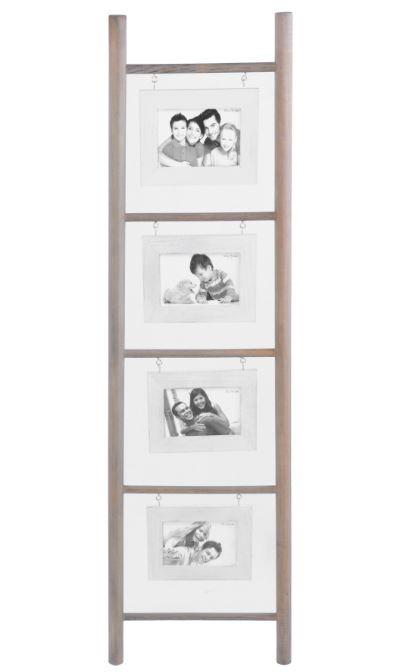 suchergebnis geschenk trendartikel bilderrahmen xxl holzleiter optik 117 cm vintage design weiss. Black Bedroom Furniture Sets. Home Design Ideas