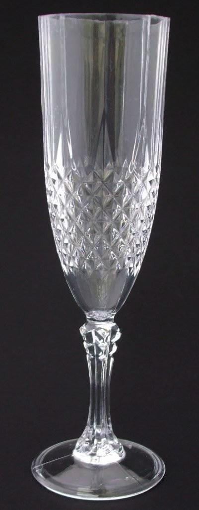sektgl ser gl ser kunststoff in kristallglas optik 200 ml. Black Bedroom Furniture Sets. Home Design Ideas