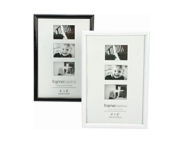 bilderrahmen f r bilder 10x15 cm hoch querformat schwarz. Black Bedroom Furniture Sets. Home Design Ideas