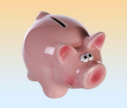 sparschwein rosa schwein mit schloss geschenkideen sparschweine spardosen. Black Bedroom Furniture Sets. Home Design Ideas